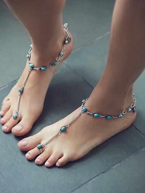 Free People - bijoux de pieds