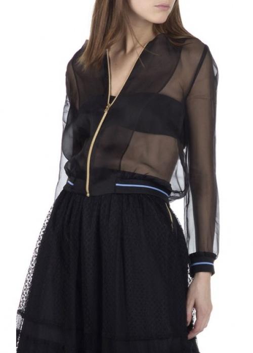 Tara Jarmon - Bomber transparent sportswear
