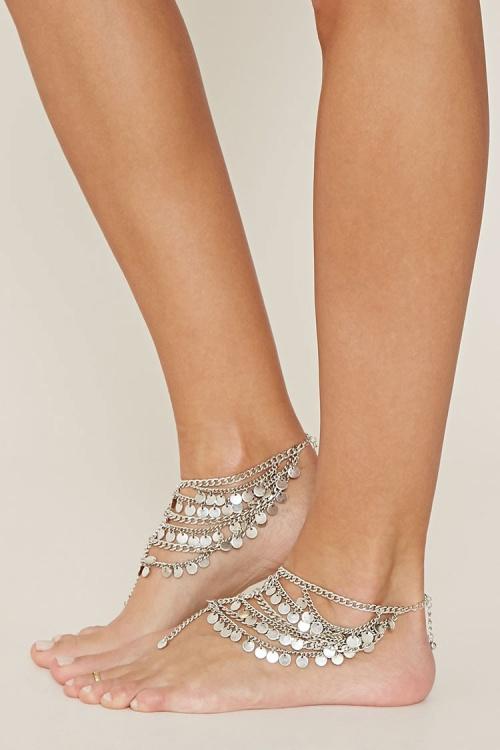 Forever 21 bijoux de corps pieds