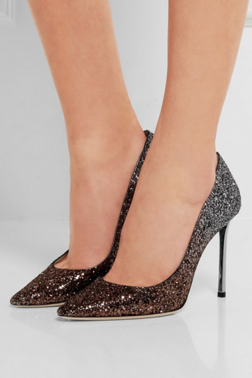 JImmy Choo - Escarpins paillettes