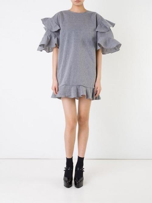 Dresscamp - Robe volants manches