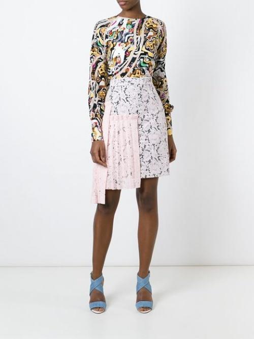 MSGM jupe multicolor
