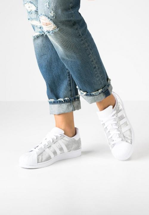 Adidas - Baskets paillettes argent