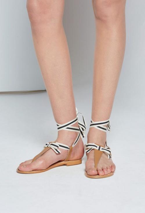 Claudie Pierlot  sandales noeud marin