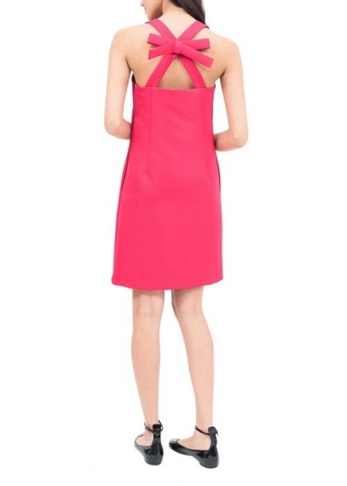Sinequanone - Robe rose dos croisé noeud