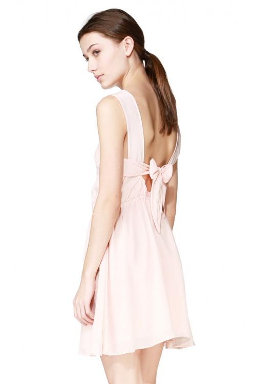 Dress Gallery noeuds dos noeud rose