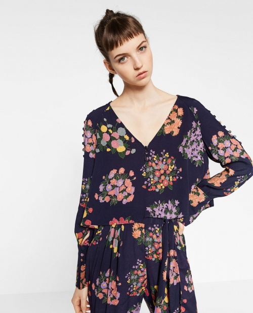 Zara - Blouse fleuris