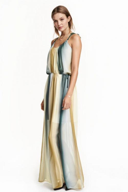H&M robe été plage imprimé
