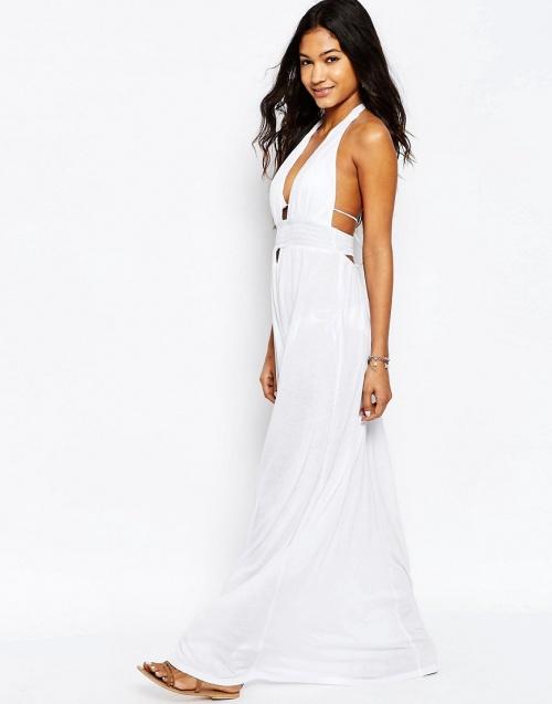 Asos robe longue blanche