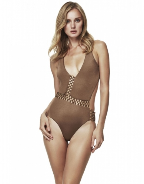 Moeva London - Maillot ajouré