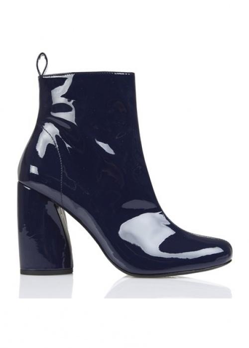 Tara Jarmon - Boots bleu vernies
