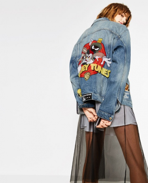 Zara veste looney tunes