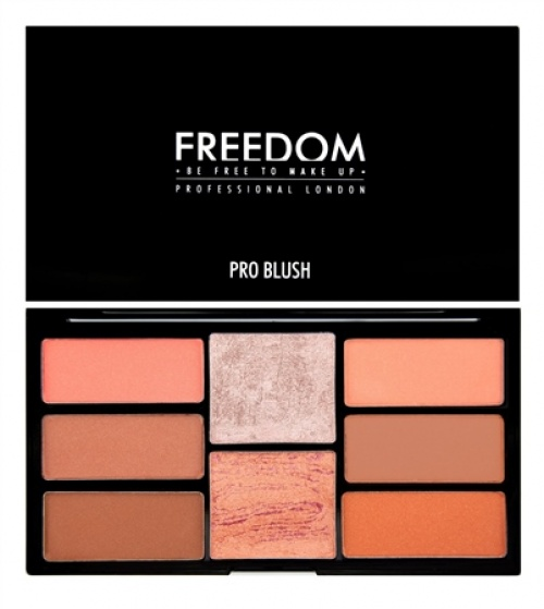 Palette Freedom Makeup London Pro Blush Palette Peach and Baked