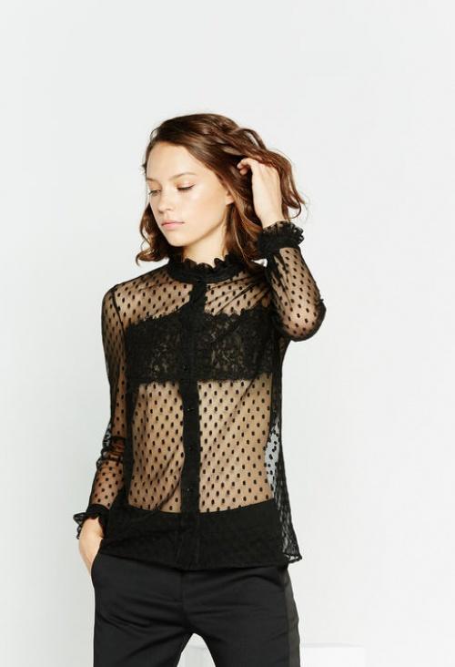 Claudie Pierlot  top blouse plumetis