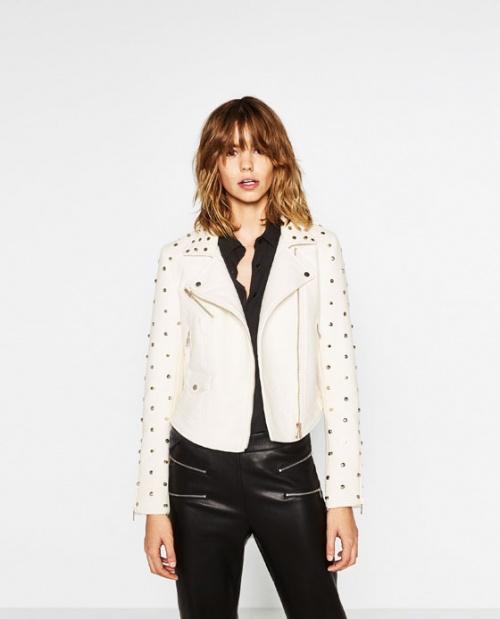 Zara  perfecto blanc orné
