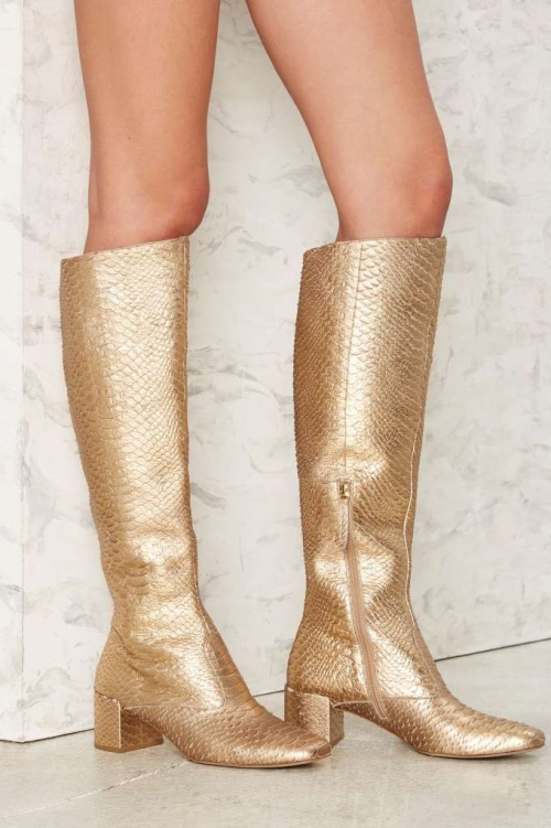 Nasty Gal bootes or serpent