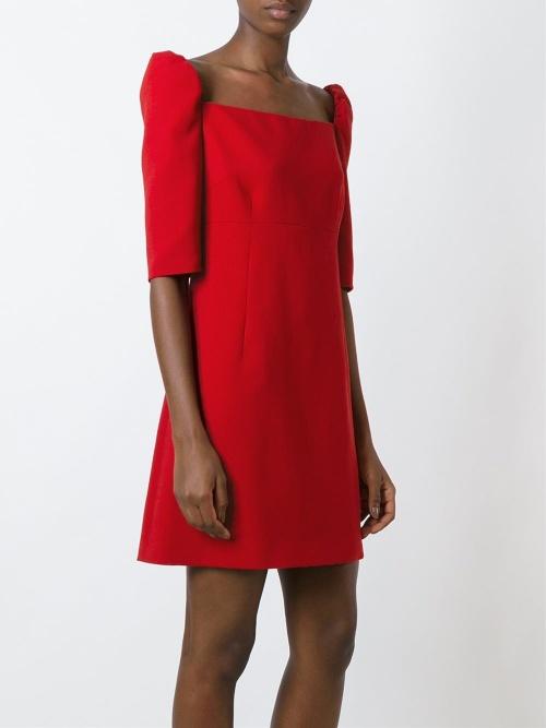 Dolce & Gabbana  robe structurée rouge
