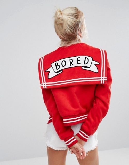 Lazy Oaf bomber bored