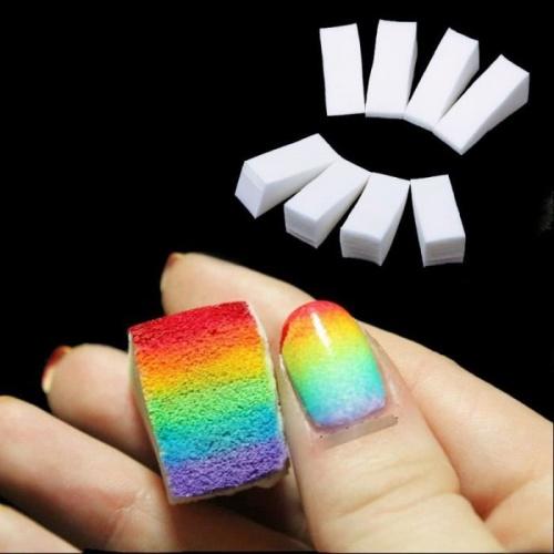 éponges nail art