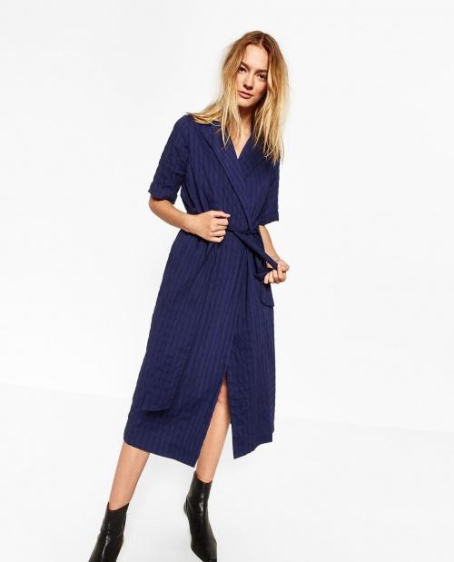 Zara-Robe croisée