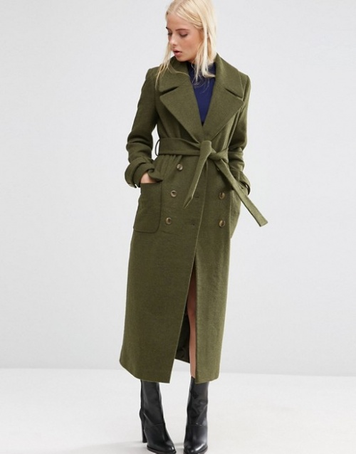Asos-Manteau mi-long