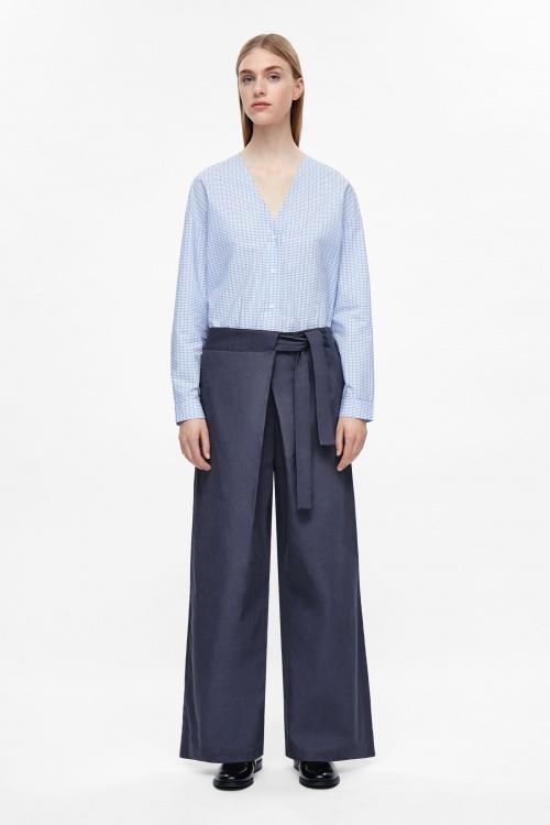 cos-Pantalon thaï ceinturé