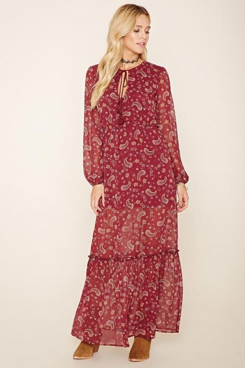 Forever 21-Robe motif cachemire