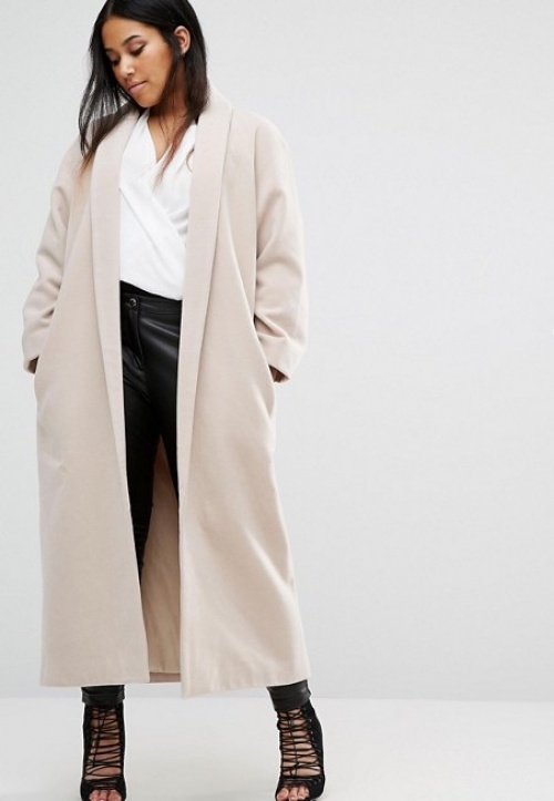 MissGuided manteau beige