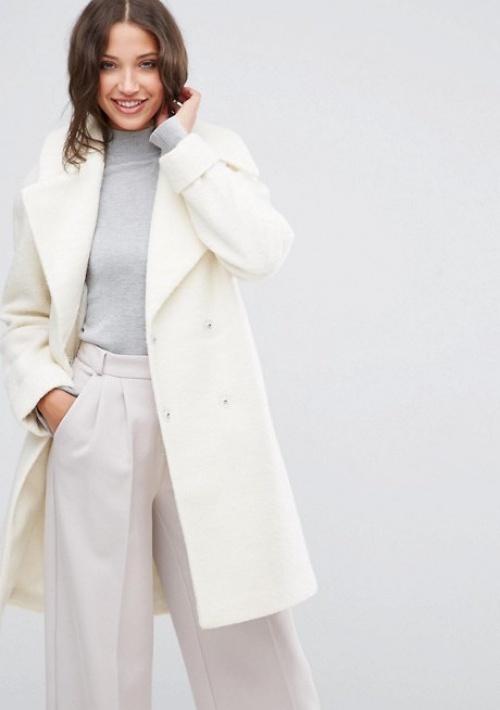 Asos  manteau blanc