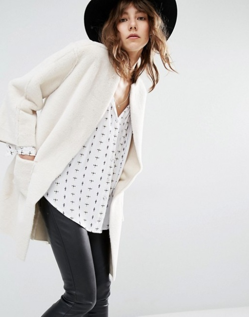 Suncoo manteau trois quart
