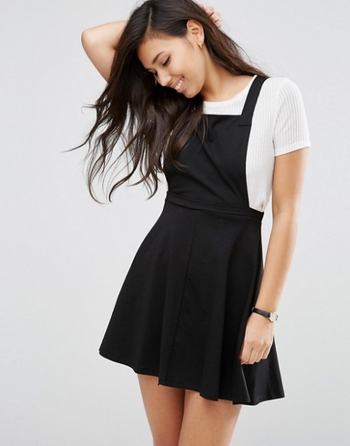Asos - Robe patineuse chasuble