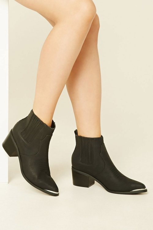 Forever21 boots santiag