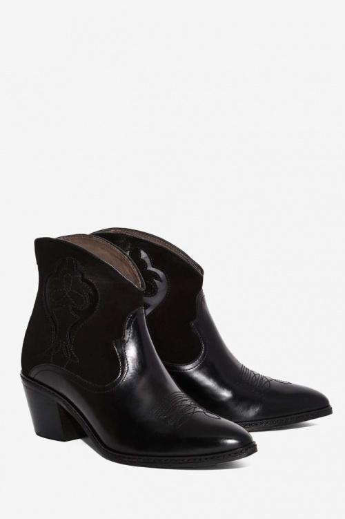 Hudson Leon boots santiags vernis