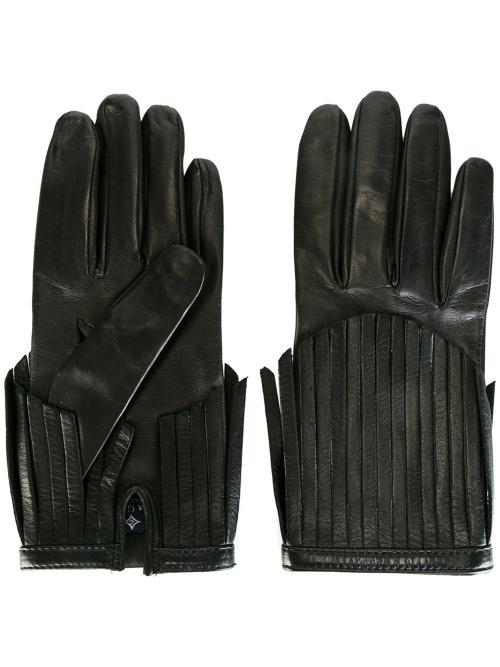 Gala gants franges