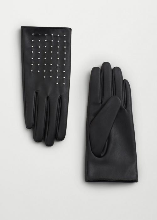 Mango gants cloutés