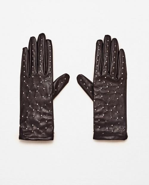 Zara gants cloutés