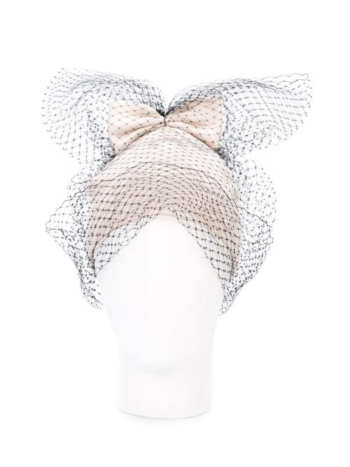 Federica Moretti  bonnet résille