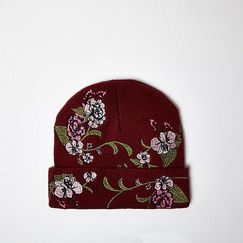 River Island bonnet imprimé fleur