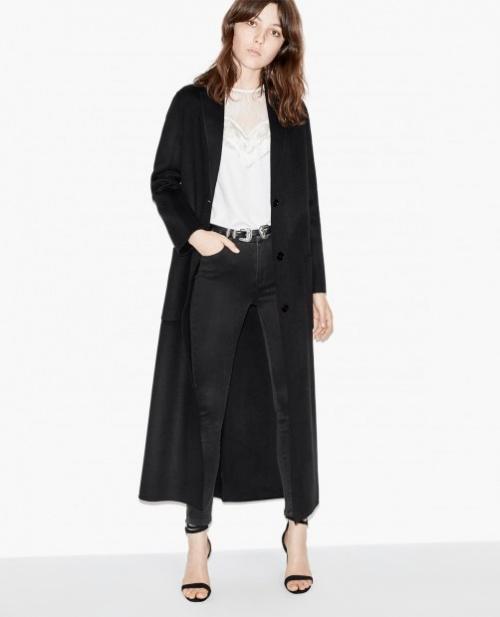The Kooples manteau long noir