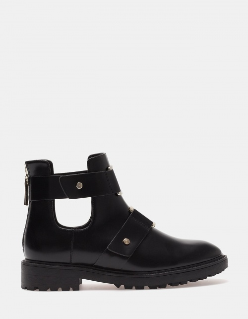Stradivarius bottines ouvertes