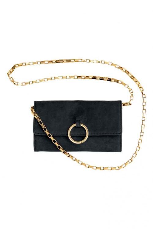 H&M - Sac pochette à chaine et anneau