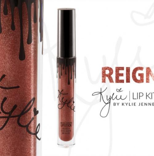 Rouge à lèvres métallique