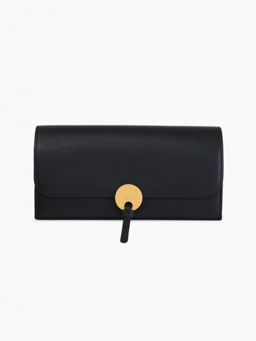 Chloé portefeuille fermoir rond