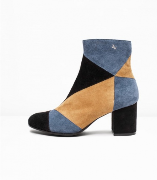 Zadig & Voltaire - Bottines patchwork