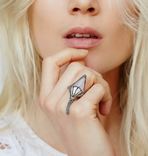 Free People - Bague chainette