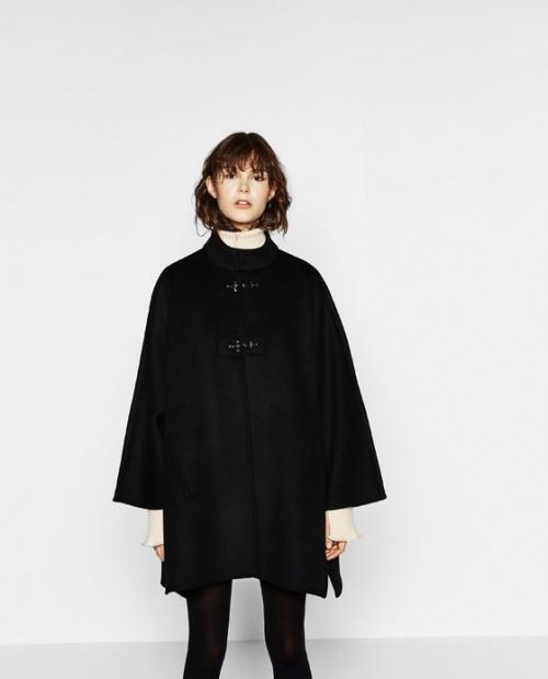Zara manteau cape à bronenbourg