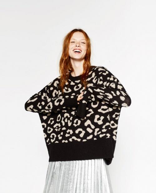 Zara - Pull leopard