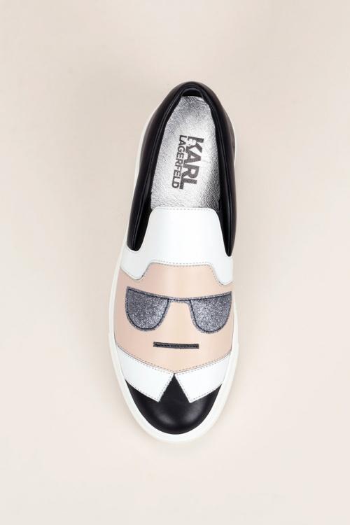 Karl Lagerfeld slip on karl