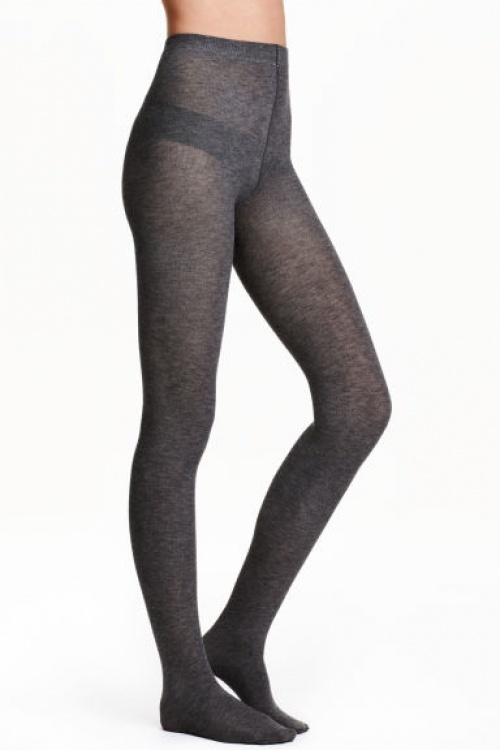 H1M - Lot deux collants laine