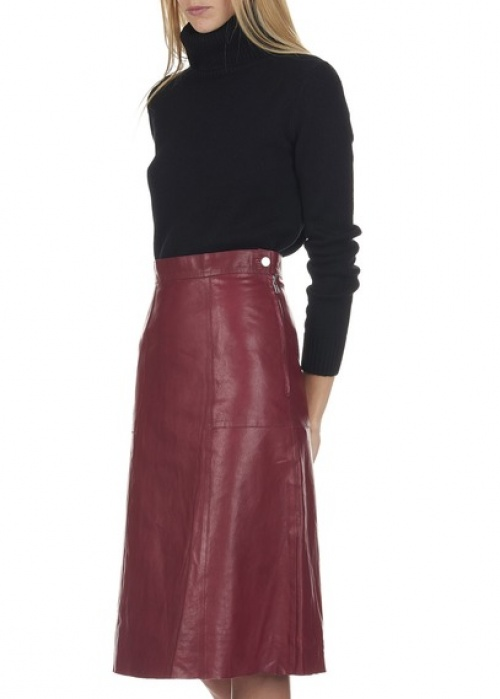 Vanessa Bruno jupe longue cuir